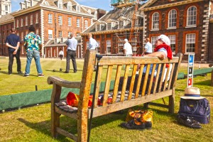 MG 7549 300x200 Veterans Aid Takes On The Royal Hospital Chelsea   At Bowls