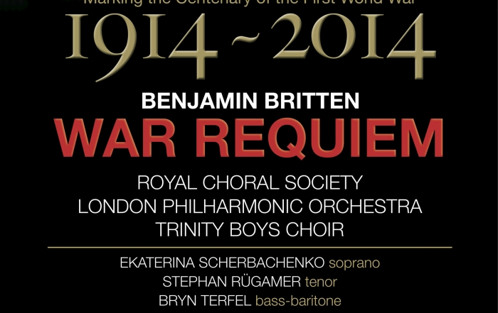 Remembrance Sunday War Requiem in support  of Veterans Aid