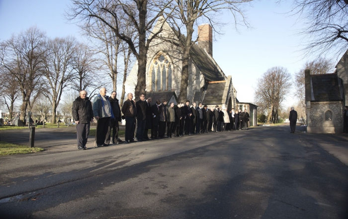 Ian Douglas Funeral